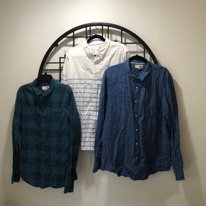 DEAL 💰💰💰 3/4/1 1901 Cotton and Linen Shirts